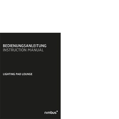 Bedienungsanleitung Lighting Pad Lounge